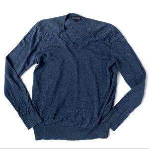 Banana Republic Linen Silk Blend V-Neck Sweater